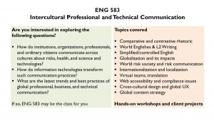 Introduction to ENG 583